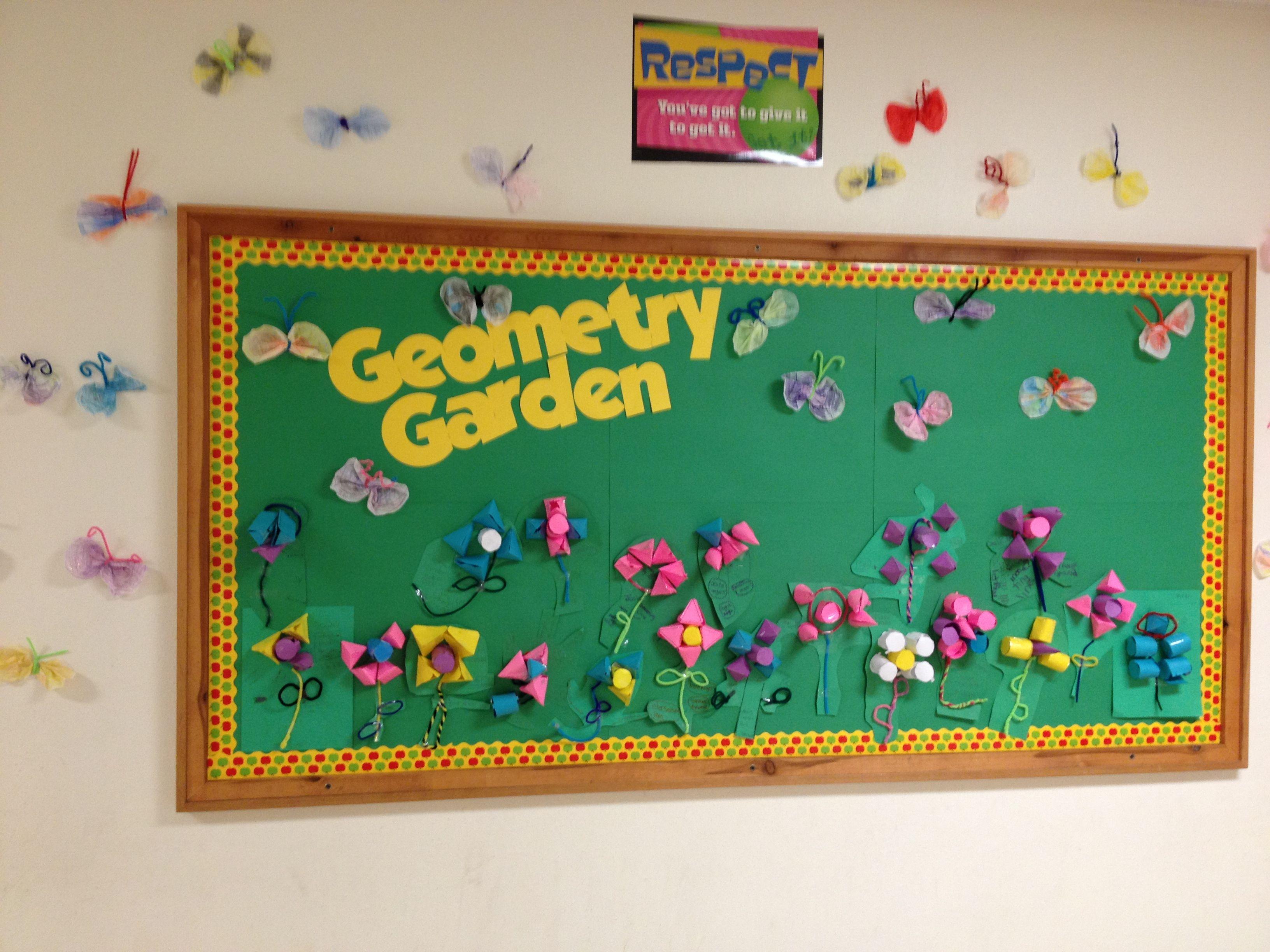 3d Geometry Garden Classroom Maths Math