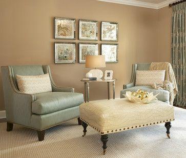 Living Room With Benjamin Moore Paint
