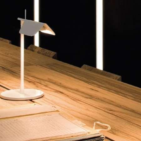 White Tab In Use Table Lamp Lamp Modern Desk Lighting