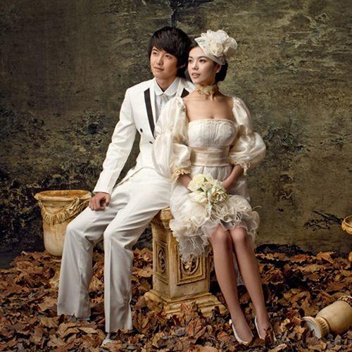 creative edwardian style couples short wedding dress clothing masquerade halloween costume ideas sku 307048