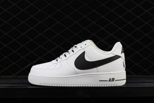 582bf51eee9 Factory Authentic Nike Air Force 1 Low Statement Game White Black -  Mysecretshoes