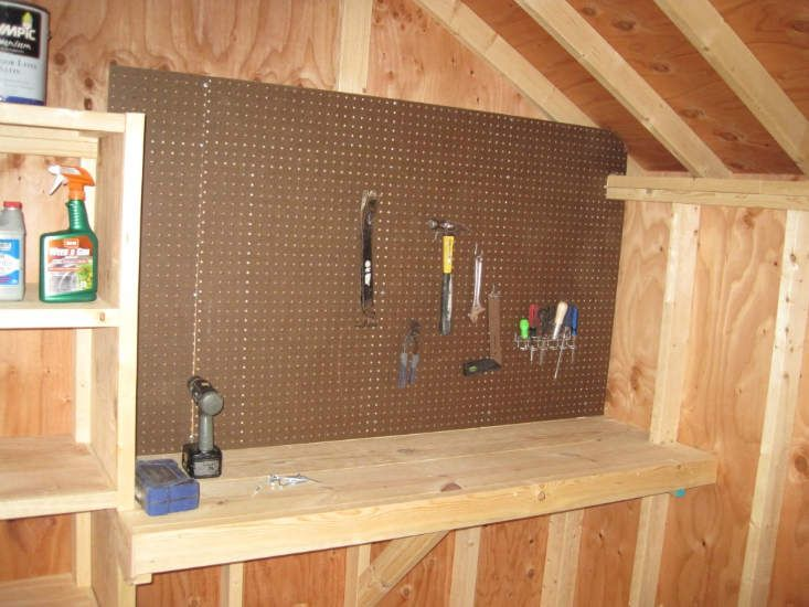 Small Shed Workbench Google Search Small Sheds Shed Workbench