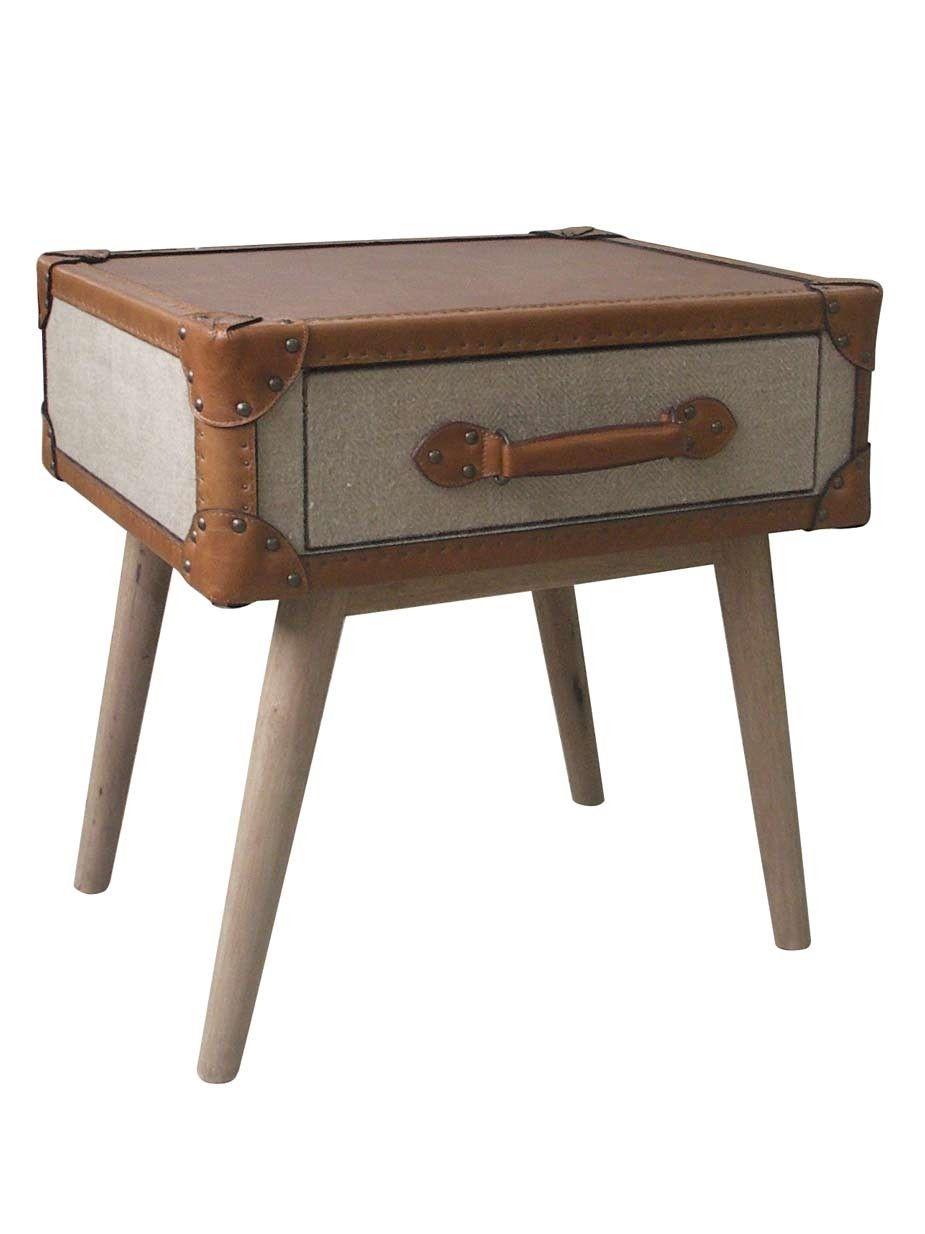Beistell Oder Couchtisch Foxboro Ein Vintage Koffer Auf Vier