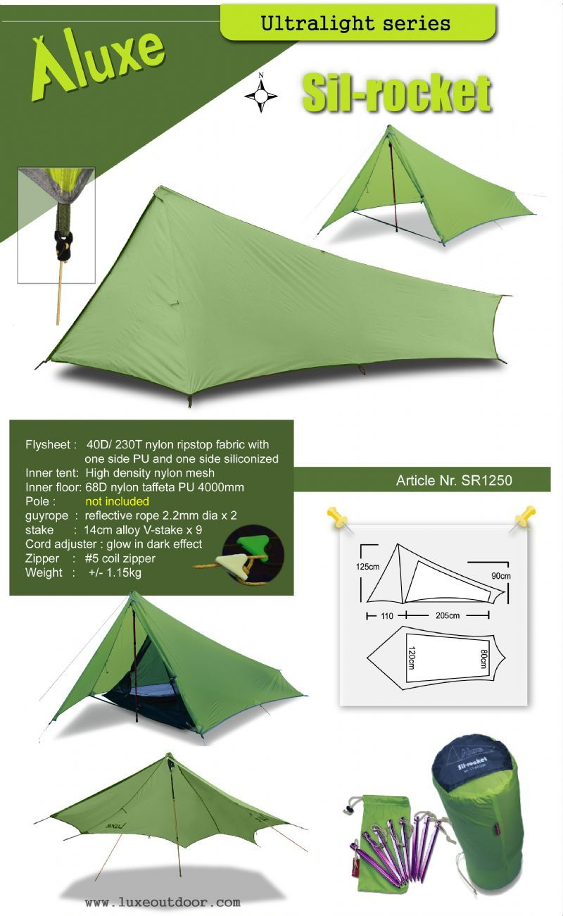 Luxe outdoor ultralight tarp tent  sc 1 st  Pinterest & Luxe outdoor ultralight tarp tent | Creative Camping | Pinterest ...