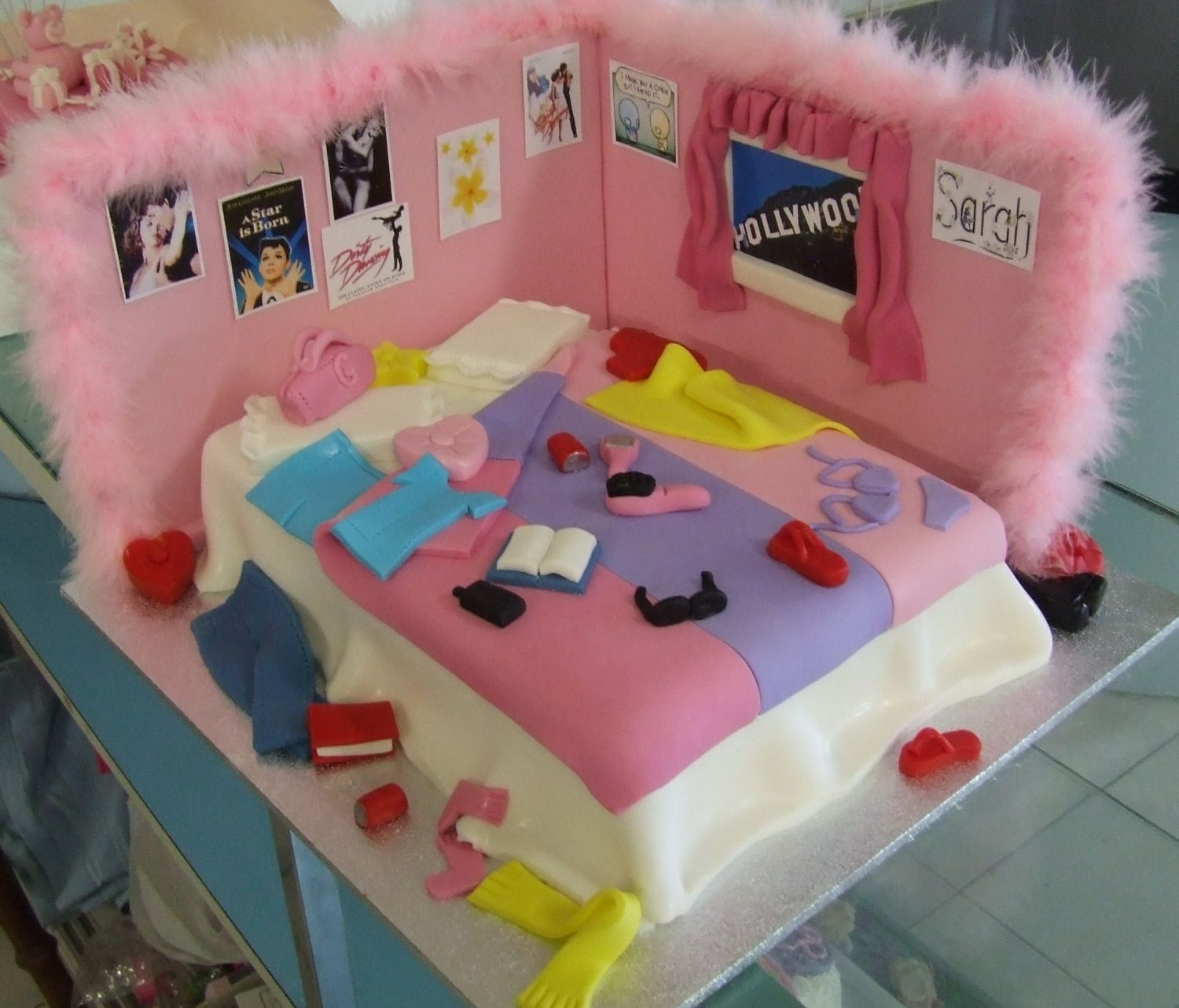 - Made for my neice's 18th , its a lot easier than it looks and got a huge reception