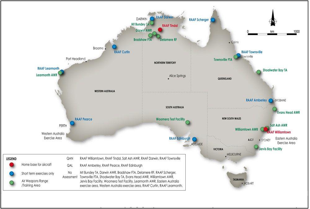 RAAF Australian Bases