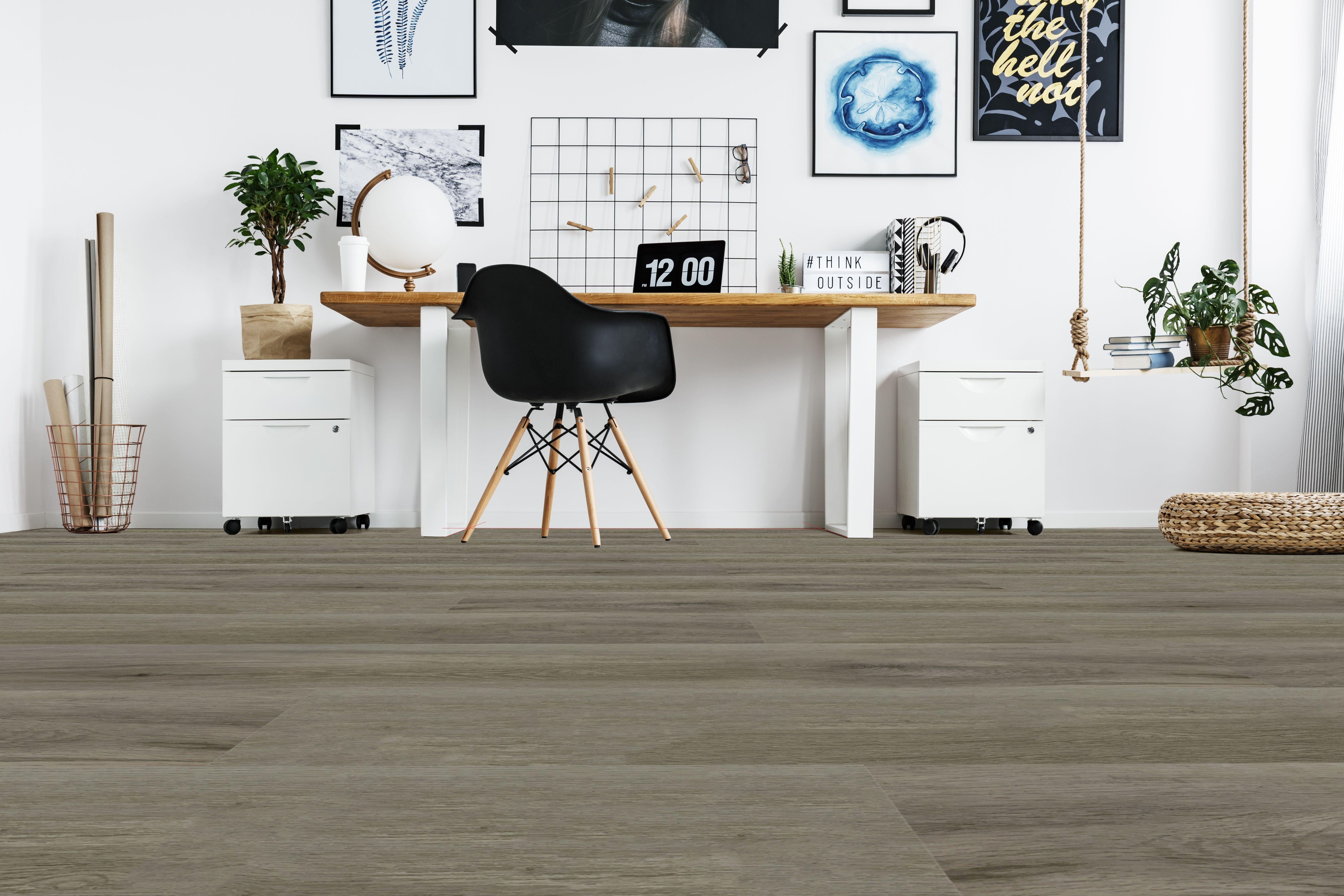 Floorclick 555 Miela Fdconcept Floorclick Pvc Lvt Vinyle Clipsable Floor Flooring Design Qualite Bureau Design Decoration Interieure