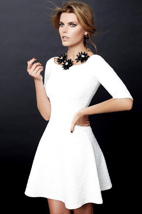 77e336299 Vestido blancos para fin de año