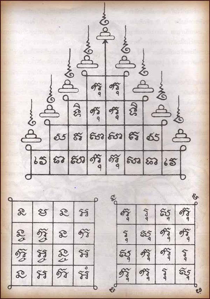 e4100a110 Thai Buddha Amulet Empire | cambodian tatoo | Tatuagem tailandesa ...