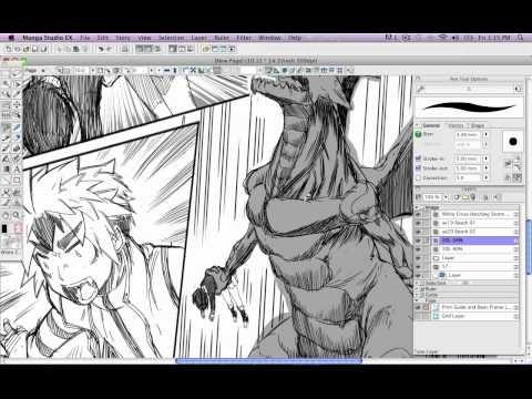 How To Draw Manga With Sen And Kai Manga Studio Screentone Screentone Manga Studio Manga Drawing