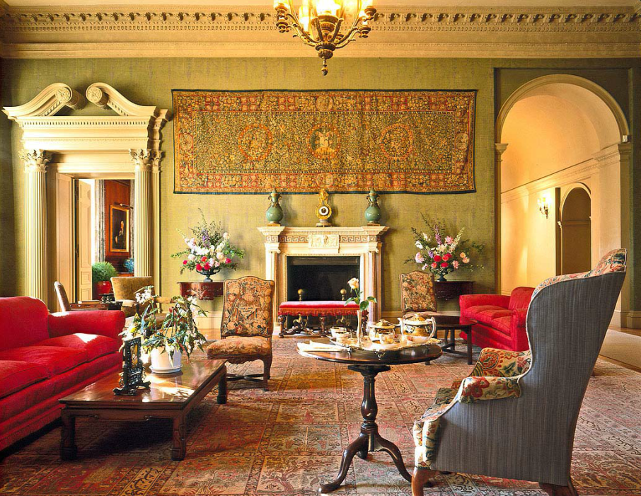 Filoli Mansion Woodside Ca Interior Design Home