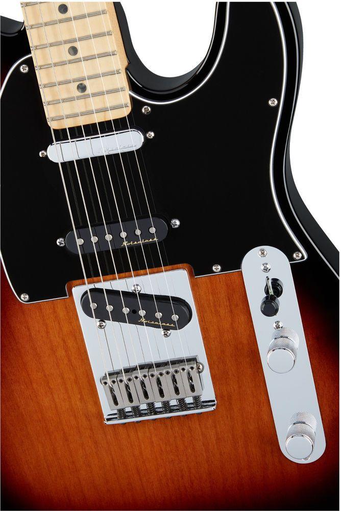 Fender Deluxe Nashville Telecaster 2 Color Sunburst 3 Pickups Deluxe Case Fender Gitaar