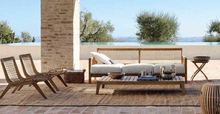 Salon de jardin en teck pour faire de son espace un sanctuaire de relax