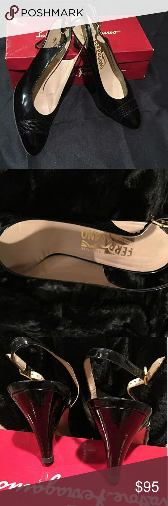 Spotted While Shopping On Poshmark Donald J Pliner Couture Black Slingback Shoes Poshmark Fashion Shopping St In 2020 Slingback Shoes Kitten Heel Shoes Slingback