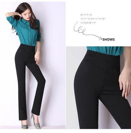 High quality women classical business suit high waist