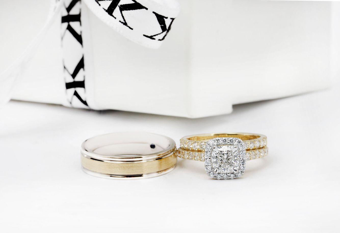 #diamondhaloengagementrings#diamondrings#diamondweddingbands#gentsring#custommaderings#jewellersmelbourne#cityjeweller#cbdjewellers#artdeco www.kalfin.com.au