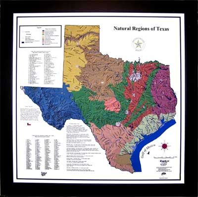 Thematic Map Of Texas.This Is An Example Of A Thematic Map Thematic Maps Use Spatial