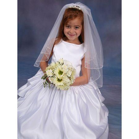 white flower girl/ first communion dresses
