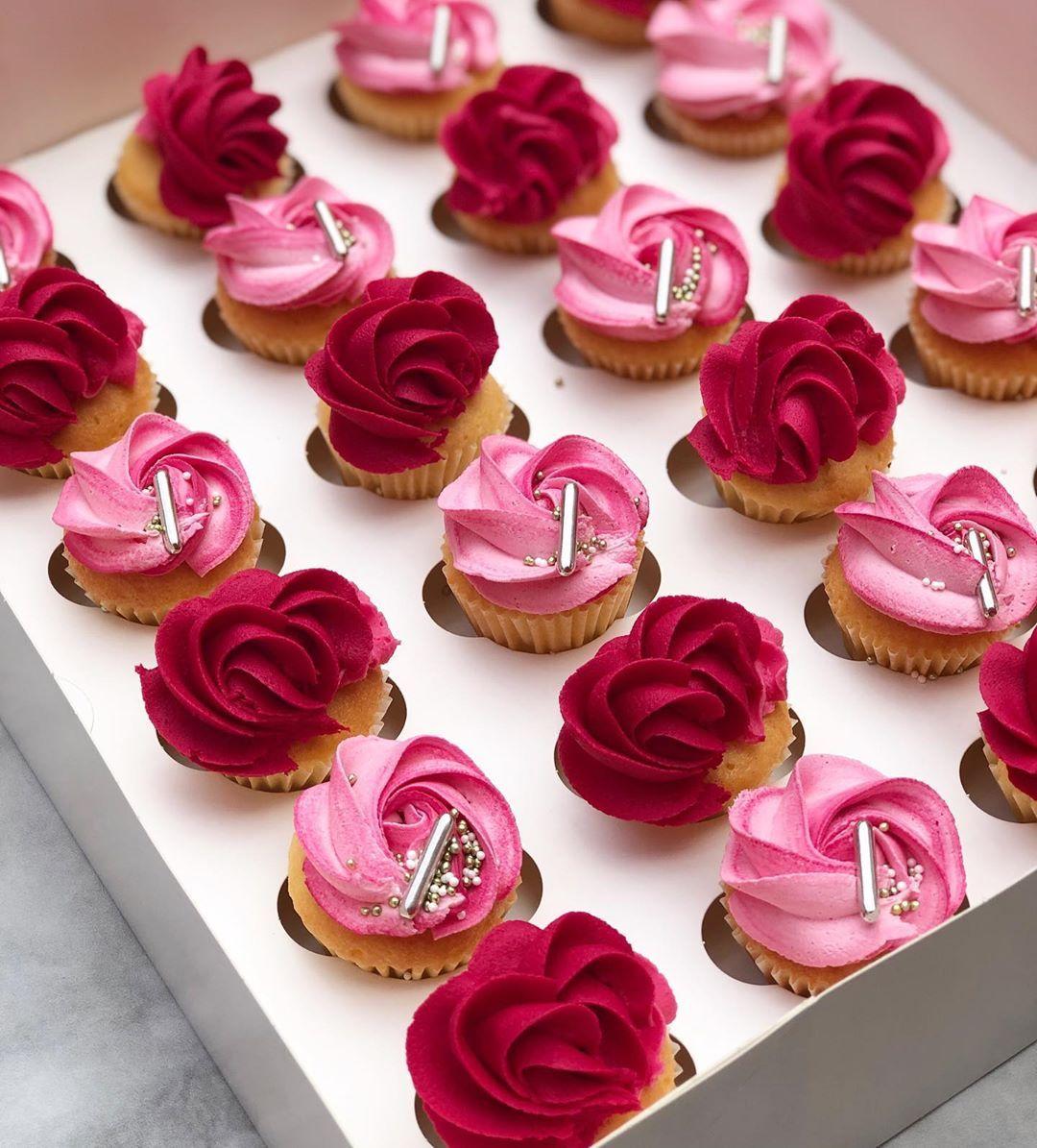 Cool Cute Mini Cupcakes For A Little Princesses Birthday Funny Birthday Cards Online Inifodamsfinfo