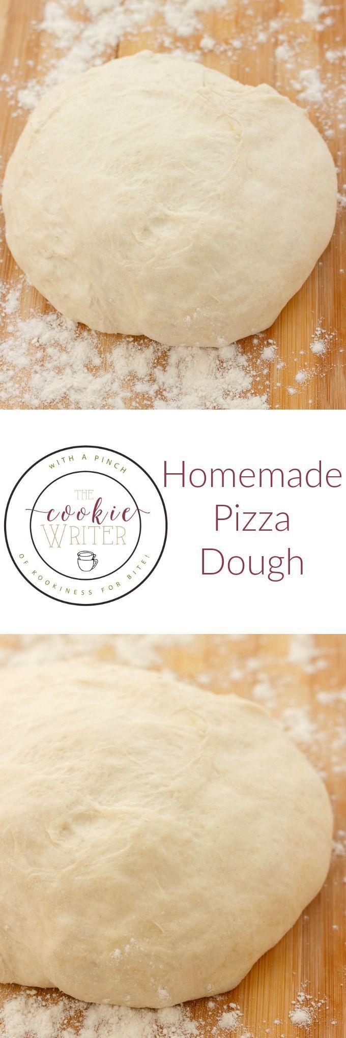 Homemade Pizza Dough | Recipe | Pizzas, Homemade and Dough pizza