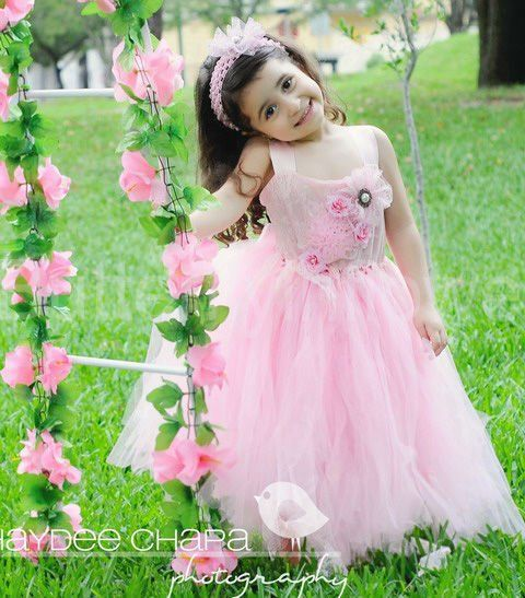 Cute fairy pink dress