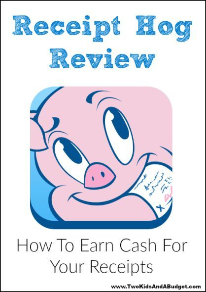 Receipt Hog Review Tips Get Paid For Your Receipts Frugal - Get paid for receipts
