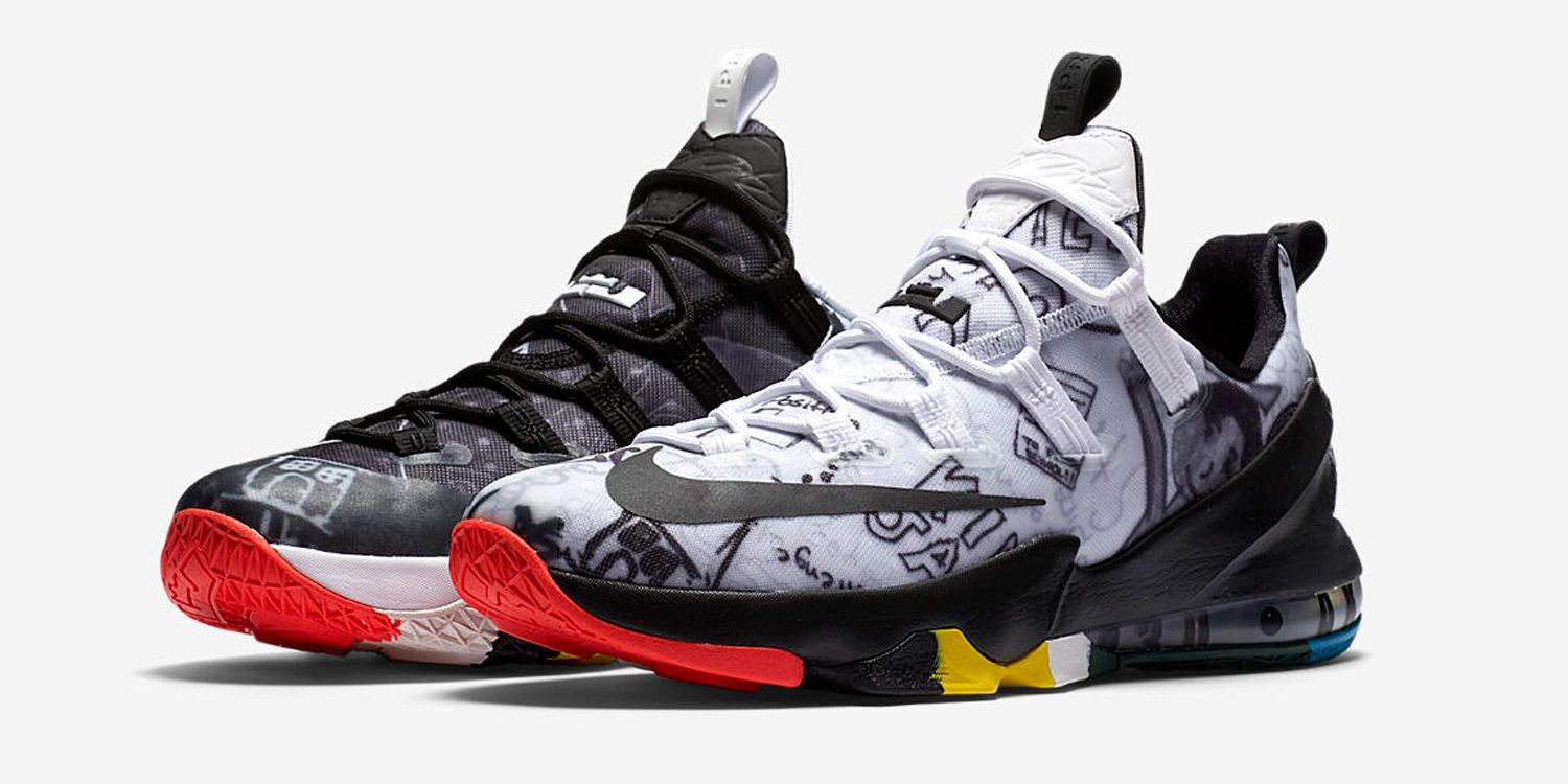 buy online 8abab ccd0d Nike LeBron 13 Low