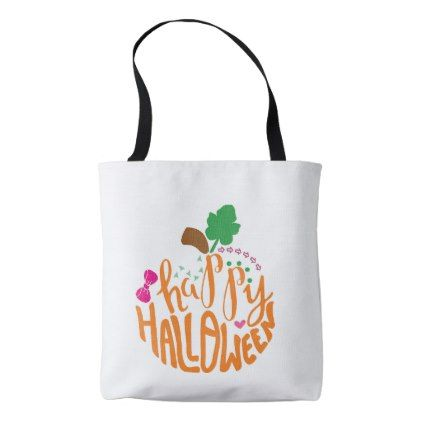 Halloween bag - thanksgiving day family holiday decor design idea - decorate halloween bags