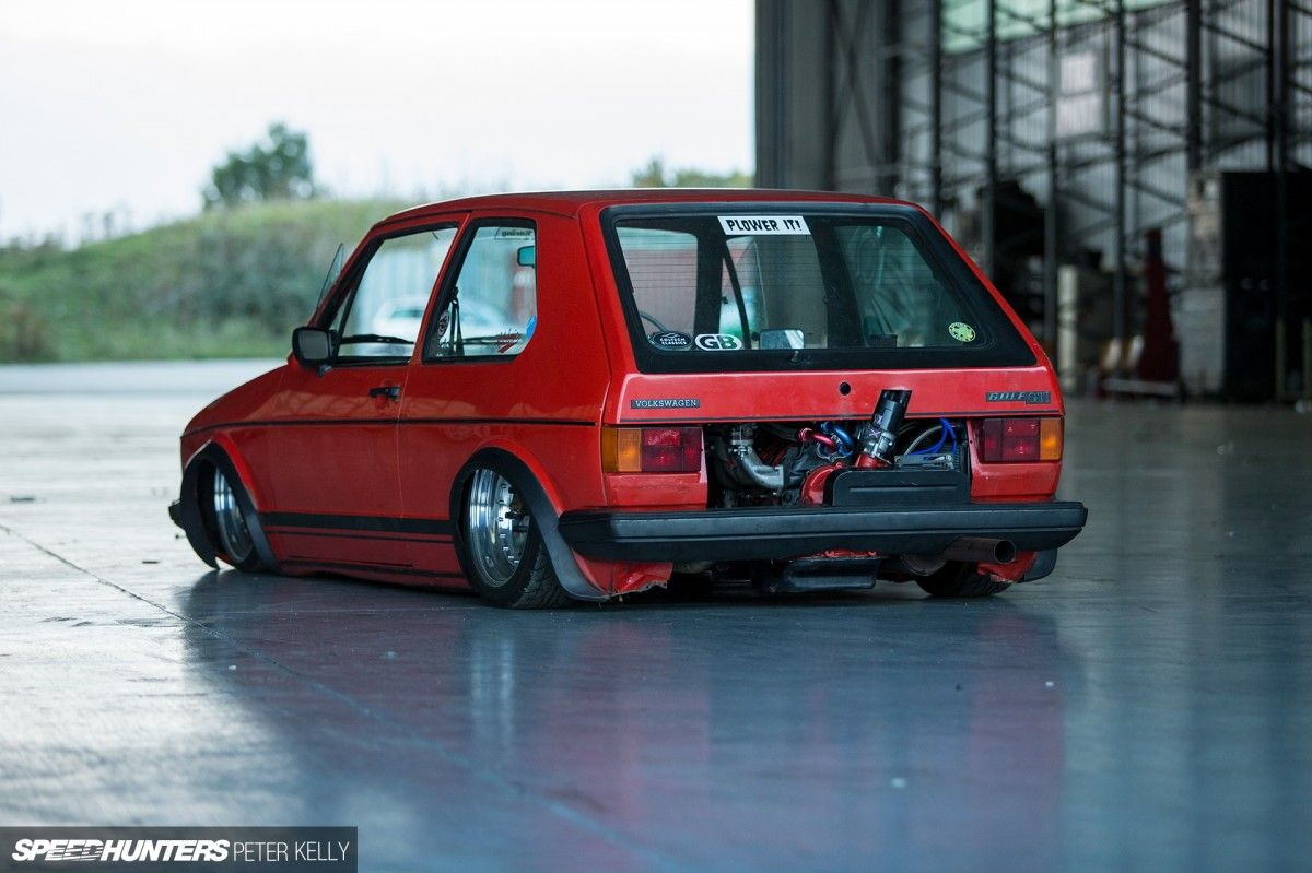 A Bridgeported Party In The Rear Vw Volkswagen Golf