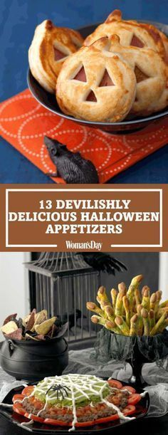 create the best spread at your halloween party with these fun finger foods click through