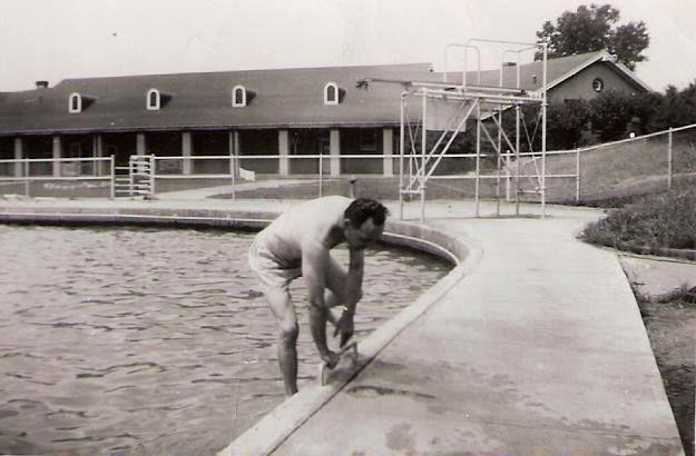 Camp Dodge Pool 1949 Des Moines Iowa Photographs Des