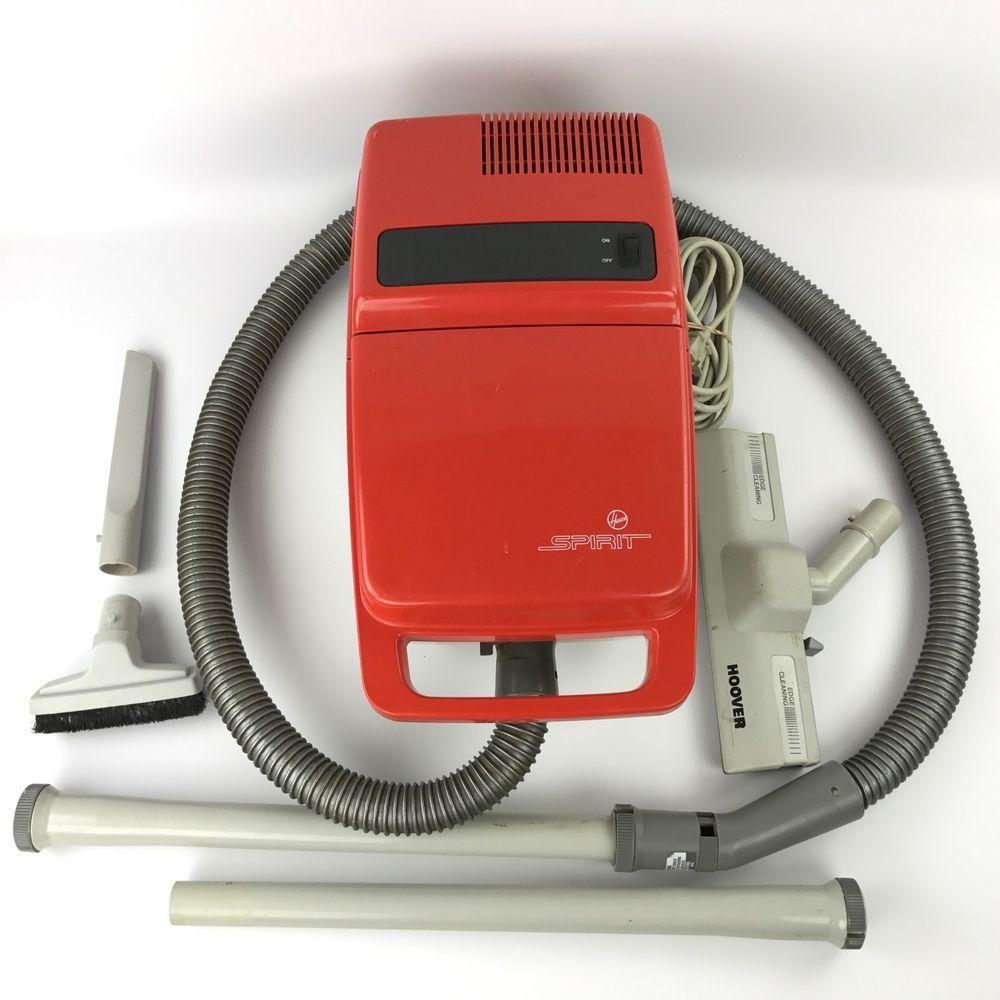 Vintage Hoover Spirit Canister Vacuum Cleaner S3289 060 Made In Usa Canister Vacuum Canister Vacuum Cleaner Vacuum Cleaner