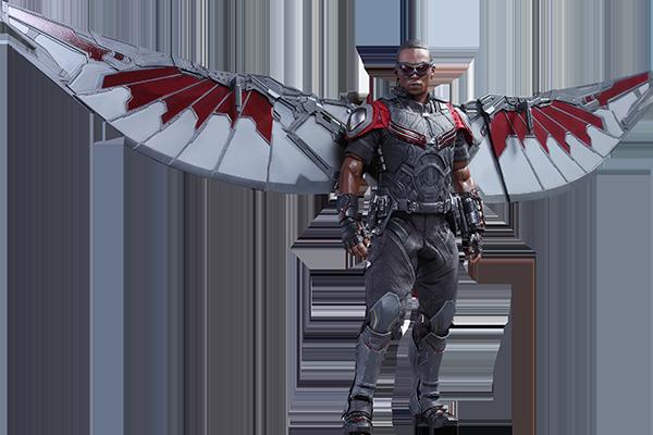 Marvel Falcon Sixth Scale Figure By Hot Toys Falcon Marvel Captain America Civil War Movie Civil War Movies