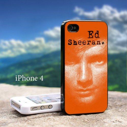 Ed Sheeran - Design For iPhone 4 / 4s Black Case | GoToArt - Accessories on ArtFire