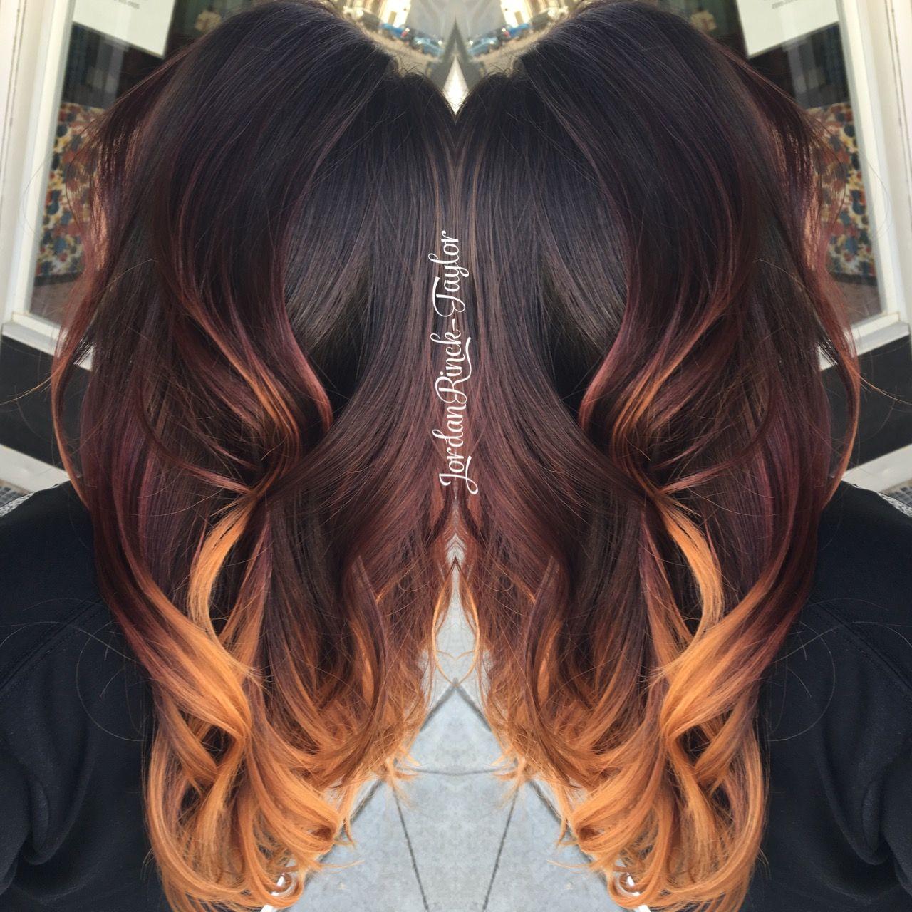 Red To Copper Hair Melt Bold Hair Instagram