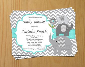 Blank Insert For Boy Baby Shower Invitation Thank By Diymyparty