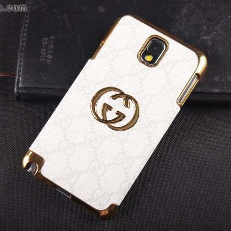 60145bafe8e Gucci Galaxy Note 3 Case Designer Leather Cover White  NoteCase-0128  -   23.80