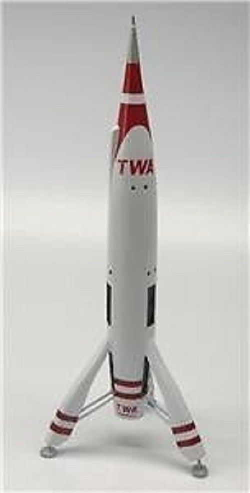Collectibles Helpful Moonliner Twa Von Braun Spacecraft Mahogany Kiln Dry Wood Model Small New