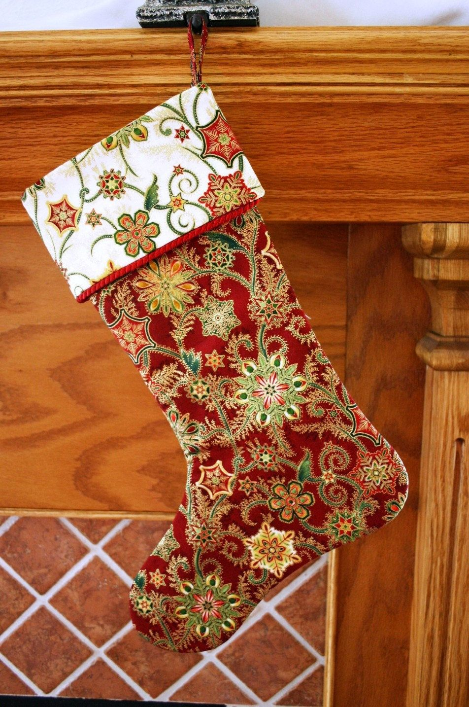 Christmas stocking pattern pdf free big bow pattern holiday decor christmas stocking pattern pdf free big bow pattern holiday decor handmade christmas supplies patterns jeuxipadfo Gallery