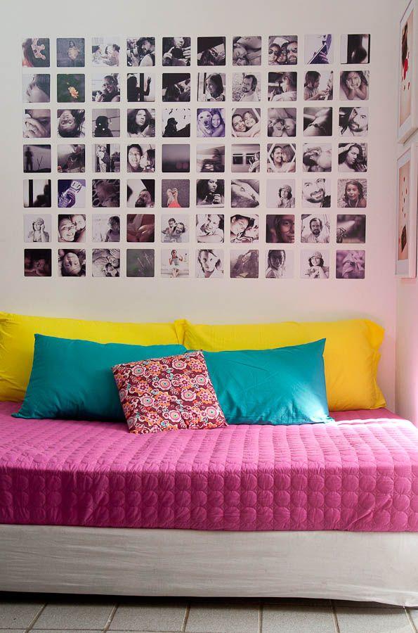 Blogueiros indicam 26 ideias de decoração para as paredes México - murales con fotos