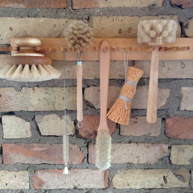 Swedish Brush Rack - The Foundry Home Goods | Minneapolis