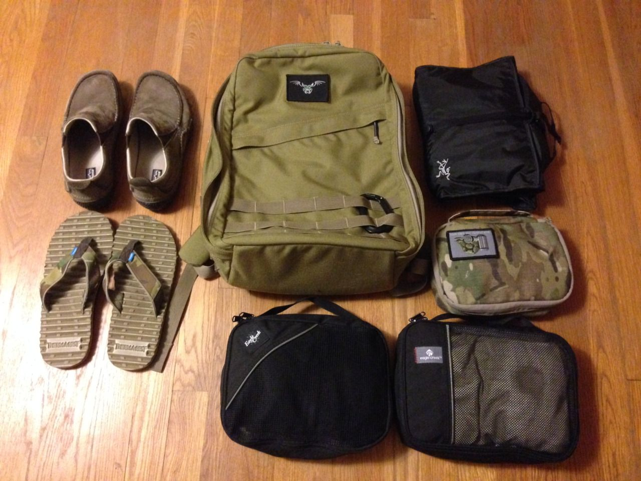 Packing light for a 10 days vacation with a GORUCK GR0 Arc