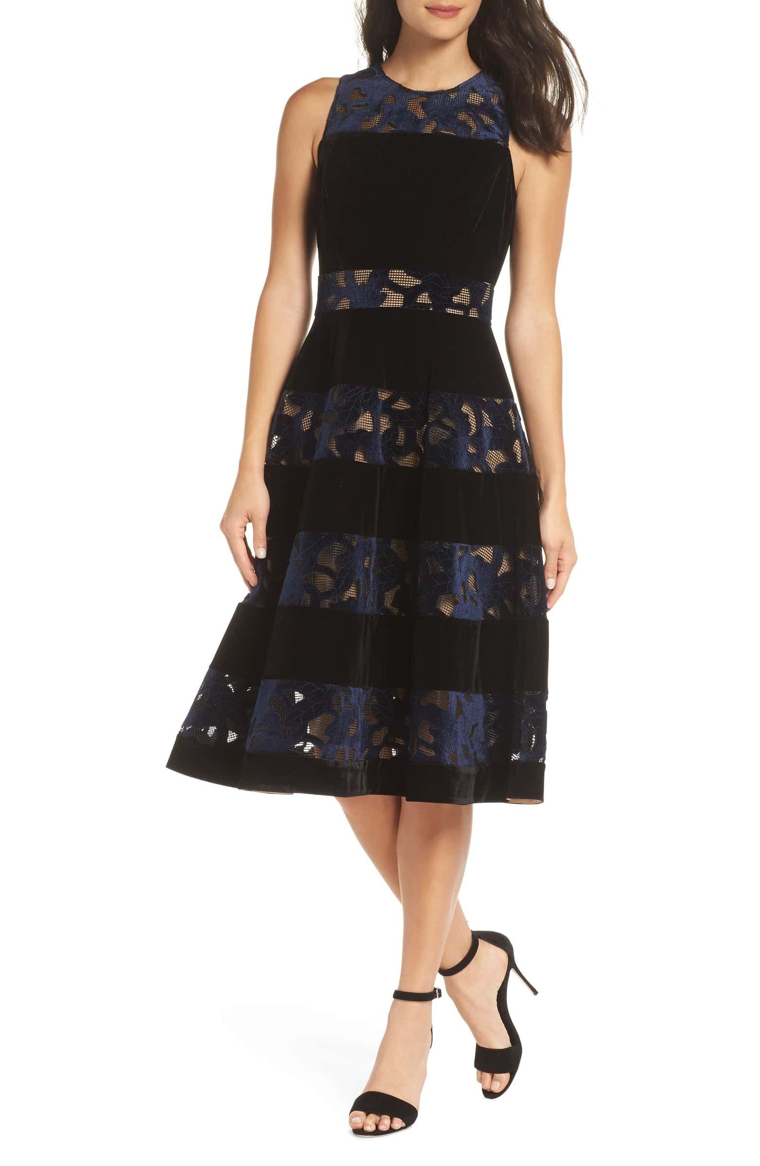 0a83f830c5f Skyler Fit   Flare Midi Dress