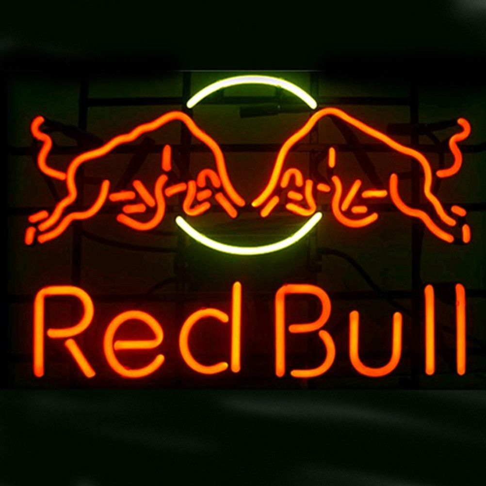 Red Bull Shop Open Neon Sign///How I love you neon signs