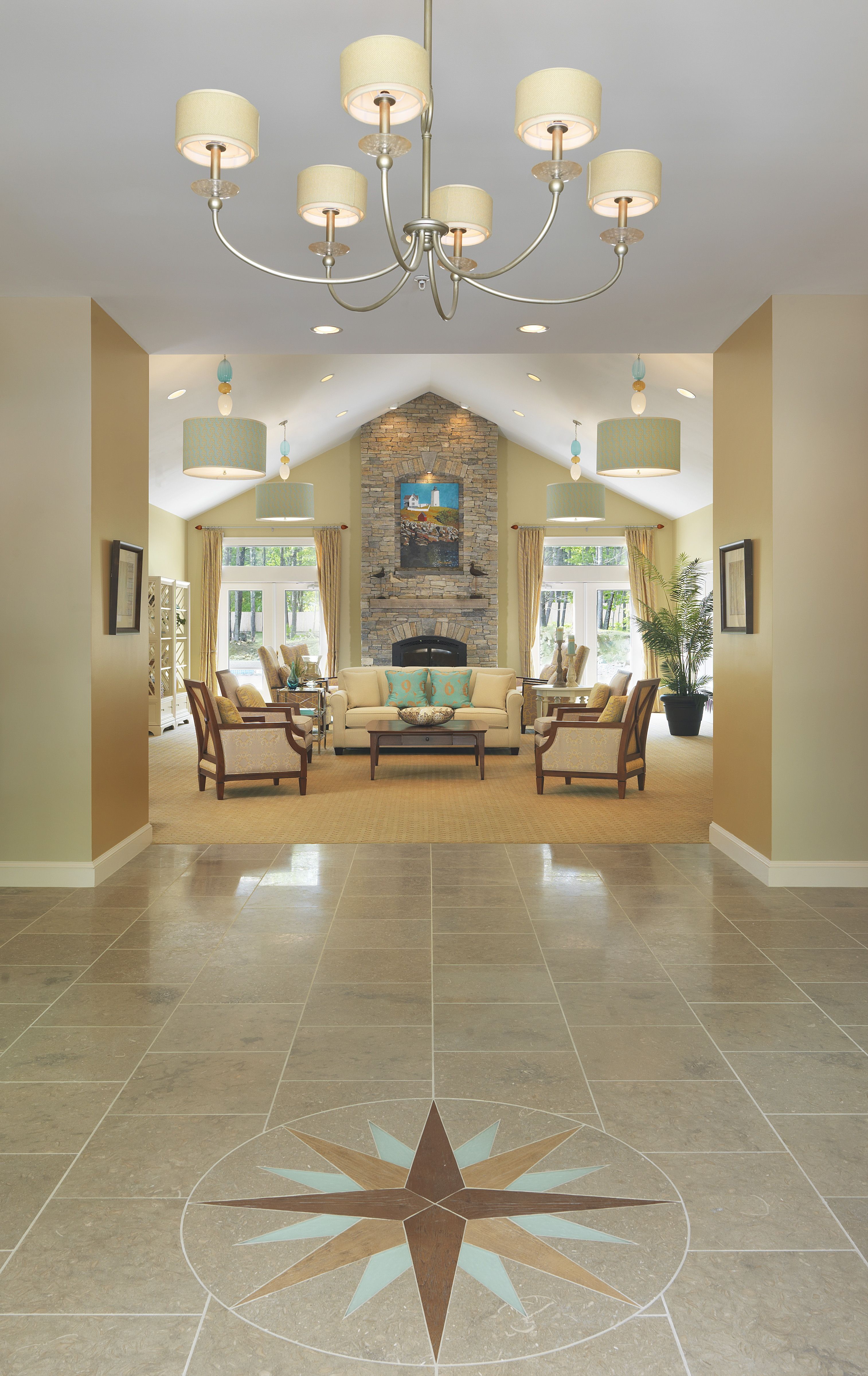 Online Room Remodel Design: Another View Of The Foyer As It Flows Into The Great Room