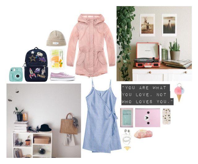 """Amy Lune"" by bibi-862 on Polyvore featuring moda, MACBETH, Accessorize, Marc New York, Vans, Soulland, Sonix y Fujifilm"