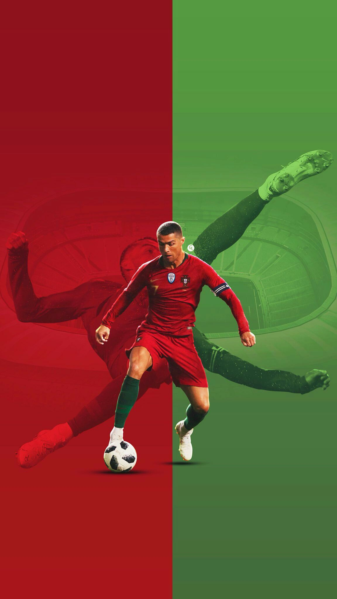 No 7 Cristiano Ronaldo Portugal Cristiano Ronaldo Futebol Arte Futebol