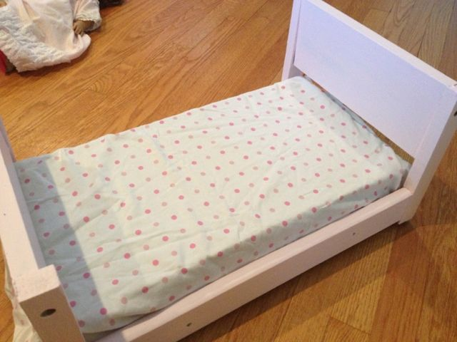Diy Doll Bed From S Wood Easy Enough For Any Beginner Hometalk