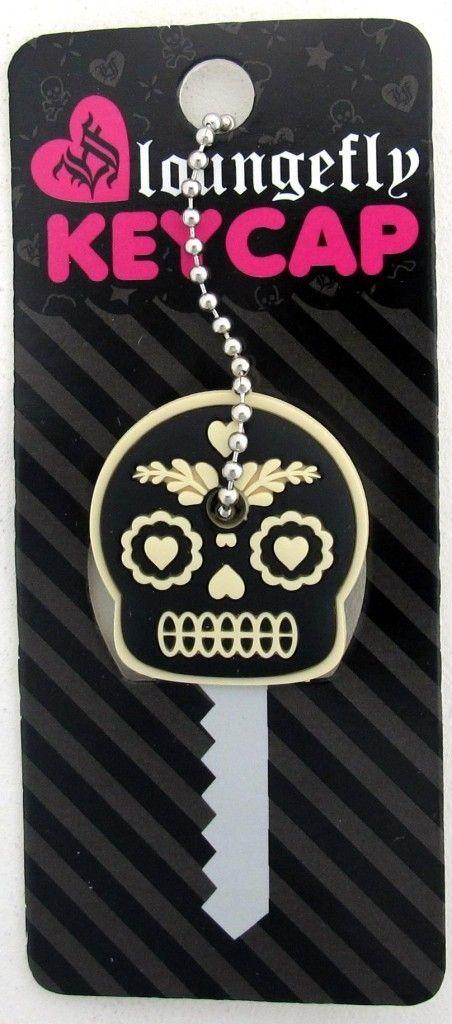 Cool skull keycap.