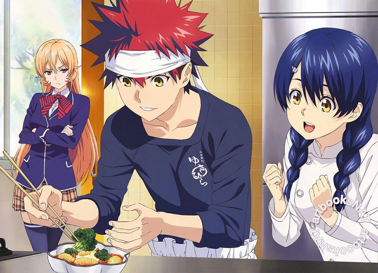 Food Wars! Anime família, Anime, Anime echii